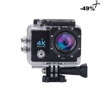 ATHLETIC CAMERA 4K Ultra HD, WiFi