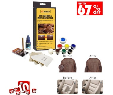 Leather Repair Set, Leather and Vinyl