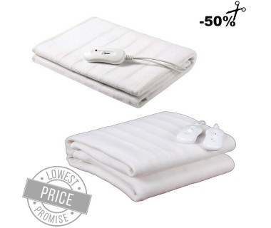 Electric Double and Mono Blanket (Two Piece Set)